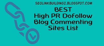 Blog Commenting Sites List