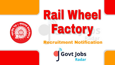 RWF Recruitment Notification 2019, RWF Recruitment 2019, central govt jobs, govt jobs in India, latest RWF Recruitment Notification update