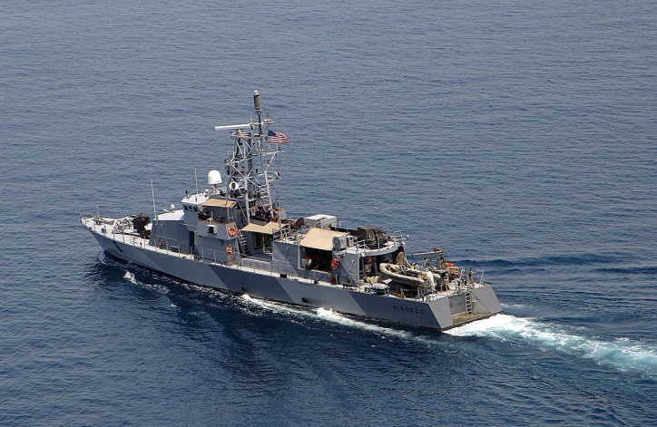 US Navy: Third interception of a vessel in Arabian Sea carrying illicit weapons
