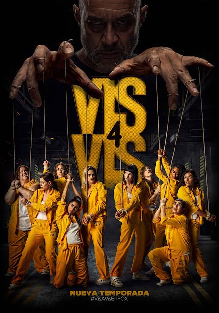 Póster de la 4ª Temporada de 'Vis a Vis'