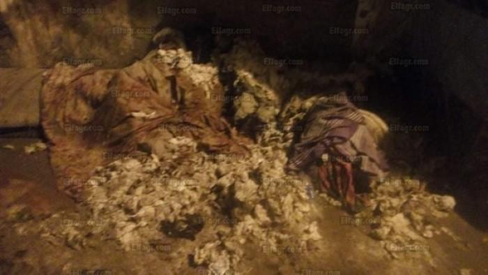 انفجار كابينة كهرباء في شبرا الخيمة (صور)
