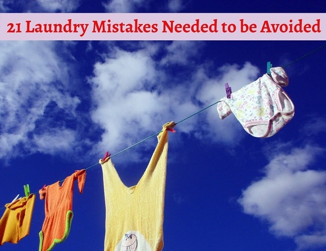 How to Wash Clothes? Avoid this 21 Mistakes | Laundry Basics