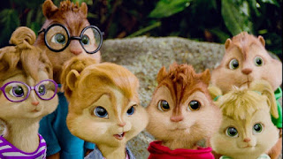Alvin e os Esquilos 3 na Sessão da Tarde ás 15:00