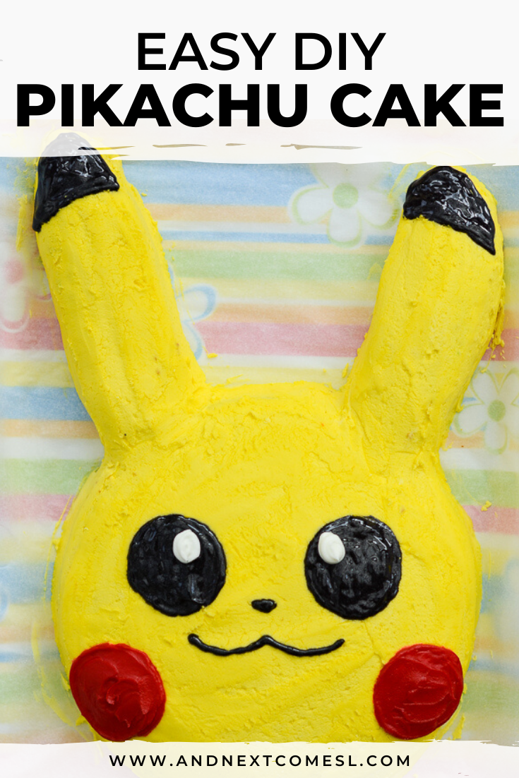 Enjoyable Easy Pikachu Cake Tutorial And Next Comes L Hyperlexia Resources Funny Birthday Cards Online Inifofree Goldxyz