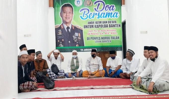 Pererat Silaturahmi dengan Ulama, Polda Banten Laksanakan Program Saba Pesantren