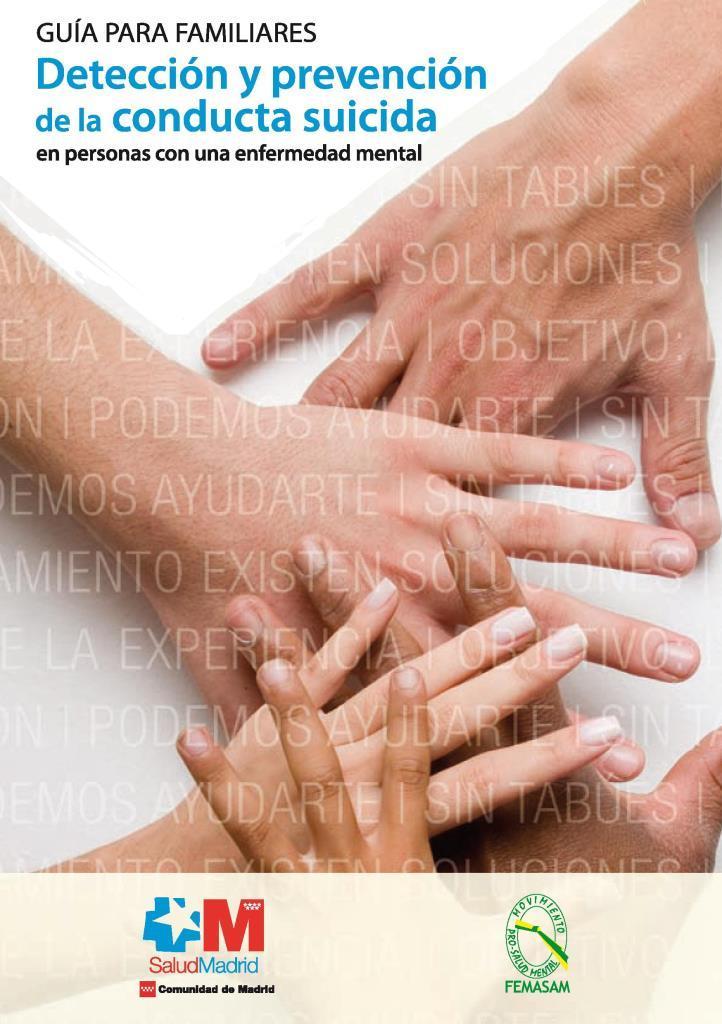 Detección de la conducta suicida: Guía para familiares