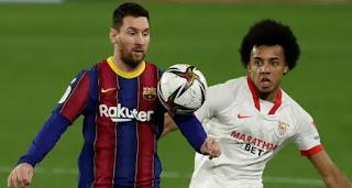 Barca players rating in Sevilla loss with Umtiti 2, Busquets 4
