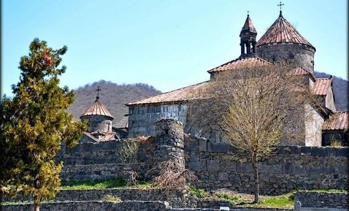 Монастырь Ахпат в Армении
