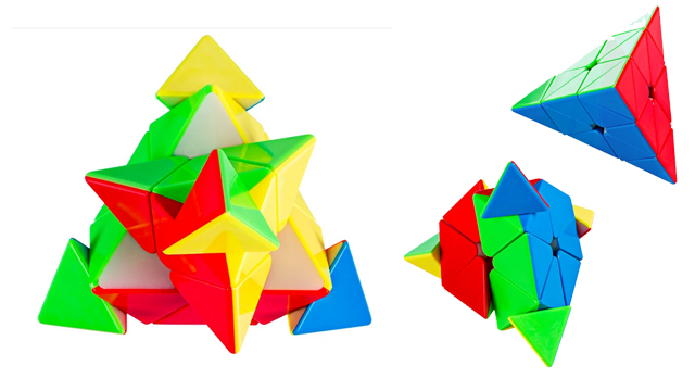 MF Pyraminx memiliki fitur yang beragam yang sangat menarik