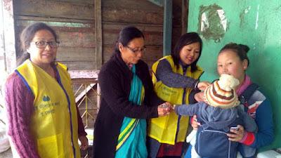 Polio vaccination mungpoo