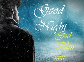 good night images for rain
