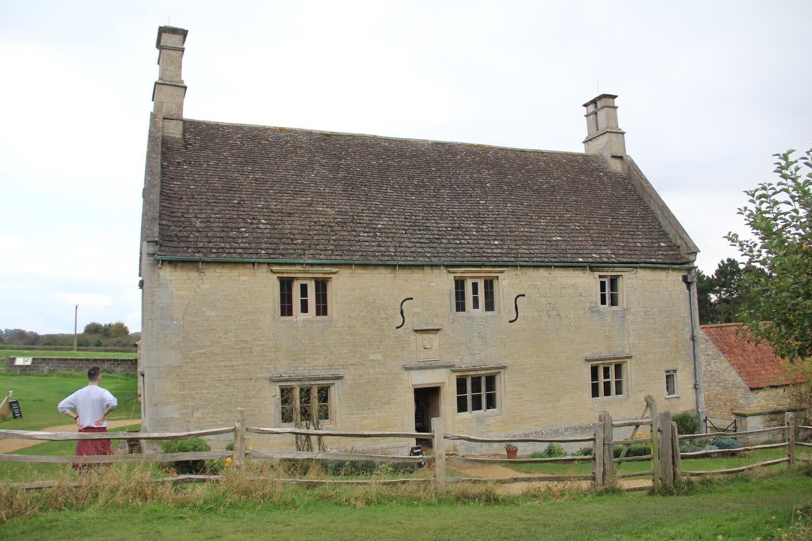 Isaac Newton's house.