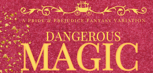DANGEROUS MAGIC BY MONICA FAIRVIEW: COVER REVEAL DAY