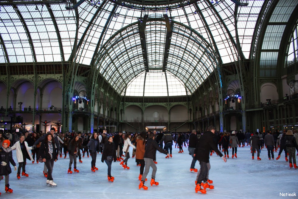 Grand Palais de Paris patinoire