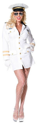 Top Gun Female Officer Costume