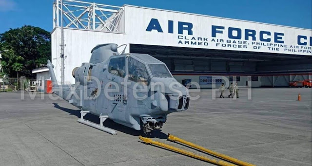 Transfer of AH-1S Cobra Attack Helicopters from Jordan Project of the Philippine Air Force