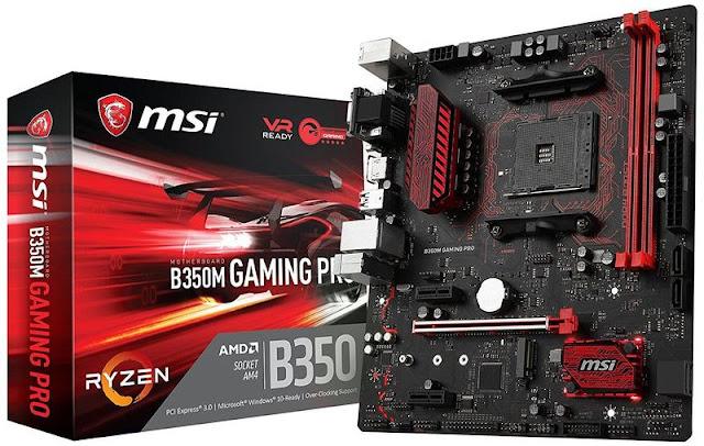 The MSI B350 PC MATE