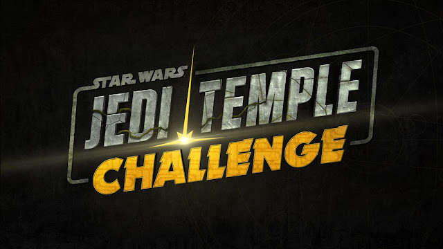 Logo Star Wars Jedi Temple Challenge