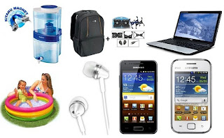 HomeShop18 Super Deal: Swimming Pool/Water Pool-3 feet for Rs.305 , Dell New Entry 15.6″ Backpack + Zebronics Laptop Cooling Pad for Rs.649 & more