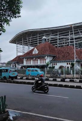 Cara ke Jati negara Stasiun Jakarta