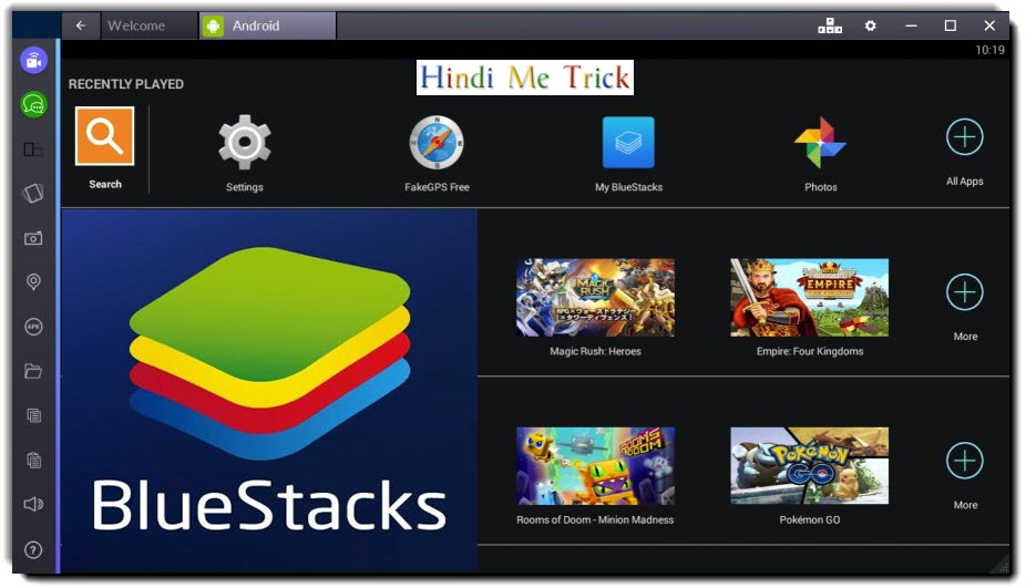 BlueStacks Apps Player