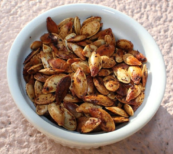 these are seasoned pumpkin seeds