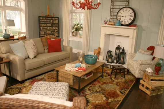 Beach Themed Living Room Remodelaholic