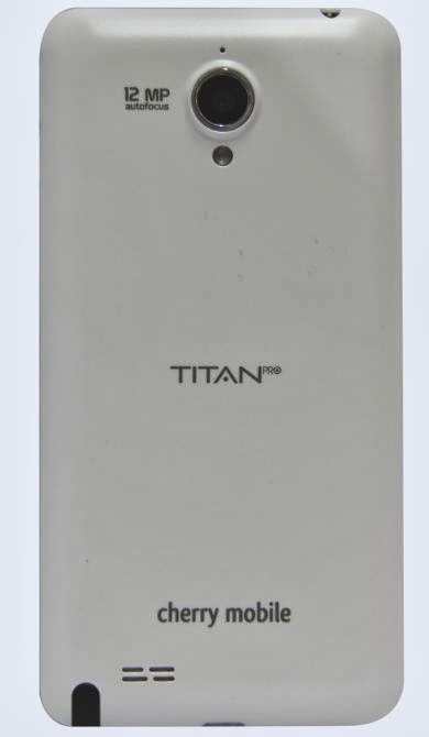 Cherry Mobile Titan Pro Back