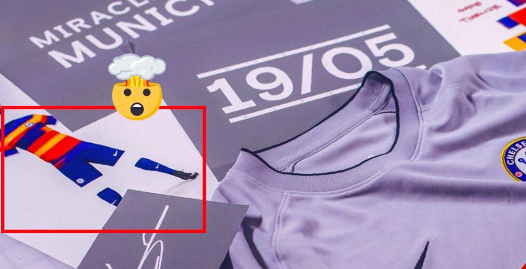 50960af36 Now the design process of the Nike Chelsea Fan Shirtholder s kit has  reached the next step.