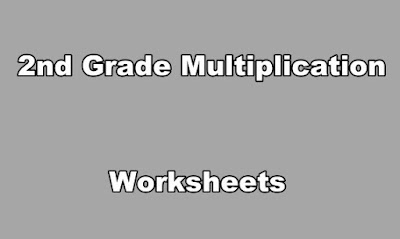 2nd Grade Multiplication Worksheets