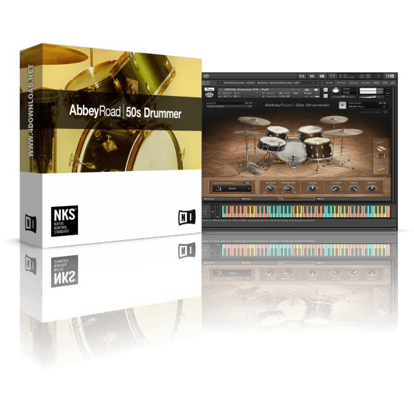 Native Instruments Abbey Road 50s Drummer KONTAKT Library