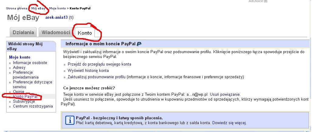 Co mnie kręci, co mnie podnieca: Płacenie za zakupy na eBay'u, czyli o PayPal słów kilka