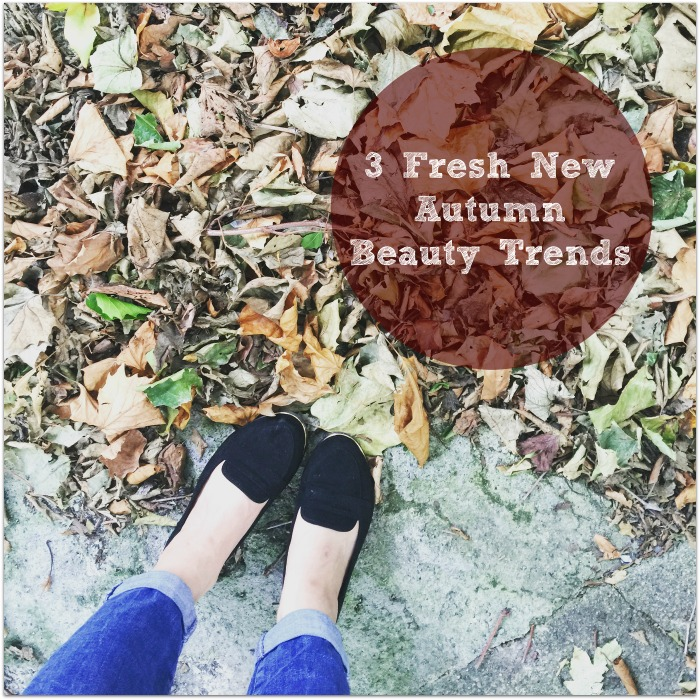 Autumn 2016 Beauty Trends