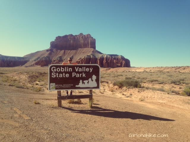 Hiking at Goblin Valley State Park, San Rafael Swell, Utah