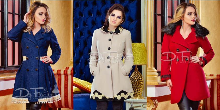 Paltoane dama elegante online - Paltoane iarna 2016-2017