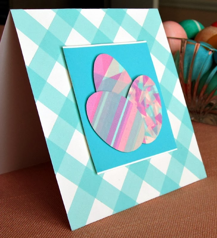 Washi Tape Easter Egg Card Tutorial by Ann Martin