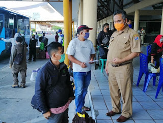 Pelaksanaan Screening Kesehatan Bagi Pengguna Moda Transportasi Udara dan Laut - Tarakan Info