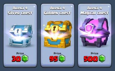 Cara Mudah Mendapatkan Gold dan Card Epic Clash Royale