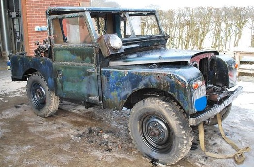 Canada Stock Journal Rust bucket Land Rover on sale for £200,000