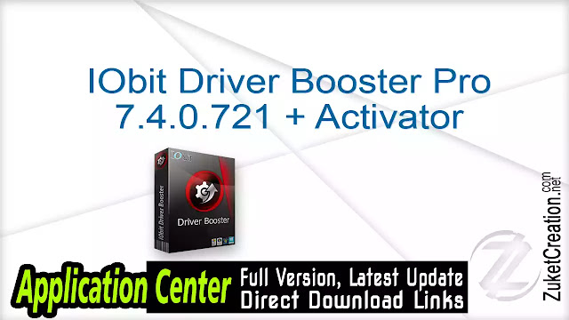 IObit Driver Booster Pro 7.4.0.721 + Activator
