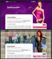 Женские шаблоны для Blogger