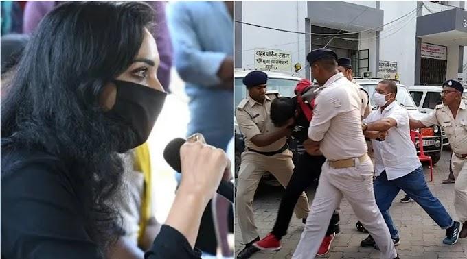 पुष्पम प्रिया की प्लूरल्स पार्टी के प्रत्याशी की हाजीपुर में पुलिस ने कि जमकर कुटाई, पढ़े रिपोर्ट