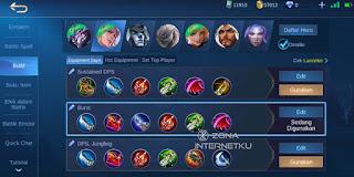 Build and emblem Lancelot Hurts Mobile Legends