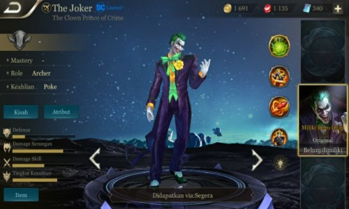 joker arena of valor
