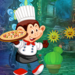 Games4King Monkey Pizza C…
