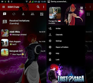 BBM MOD Lost Saga Terbaru v3.0.1.25 APK
