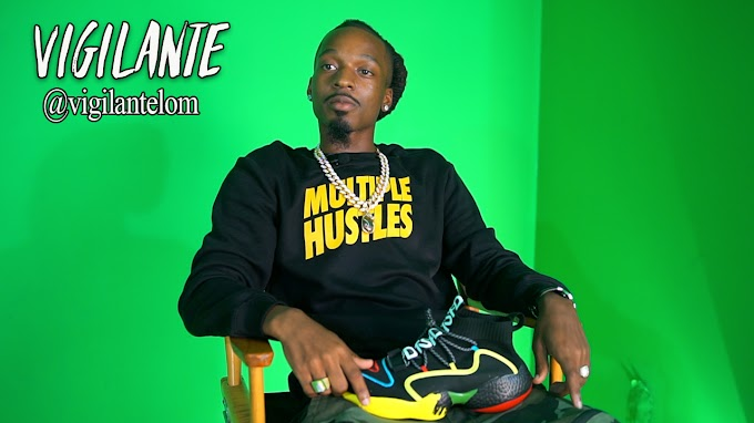 Vigilante speaks on his sneaker deal, getting 1M views and also financial advice
