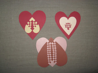 woven hearts love tokens