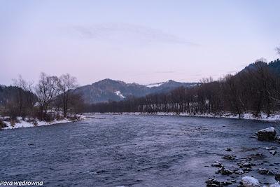 Na szlaku zielonym do Krościenka: Dunajec