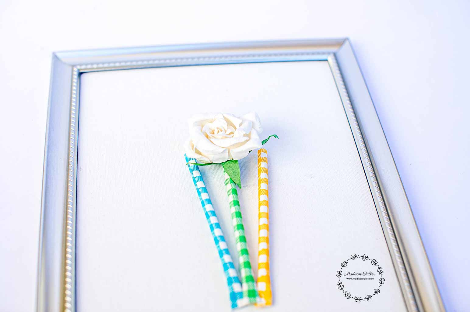 DIY Framed Bouquet Step4